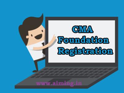 CMA Foundation Registration