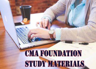 CMA Foundation Study Materials