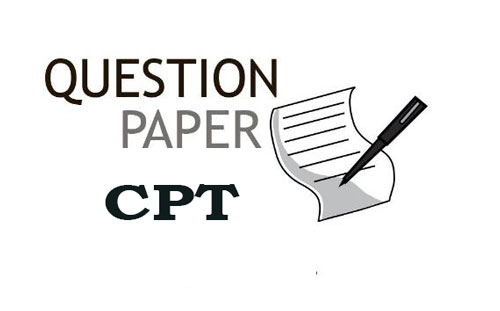 CPT Question Papers