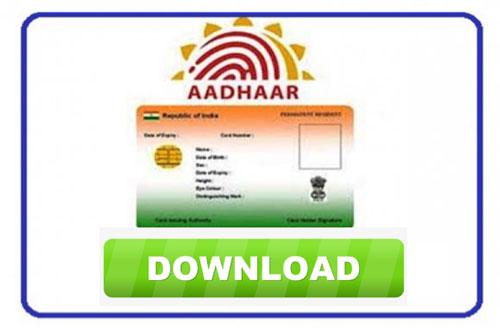 How To Download Aadhar Online