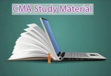 CMA Study Material