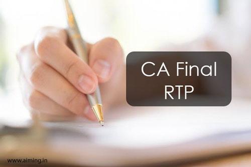 CA Final RTP May