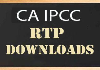CA IPCC RTP May