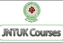 JNTUK Courses